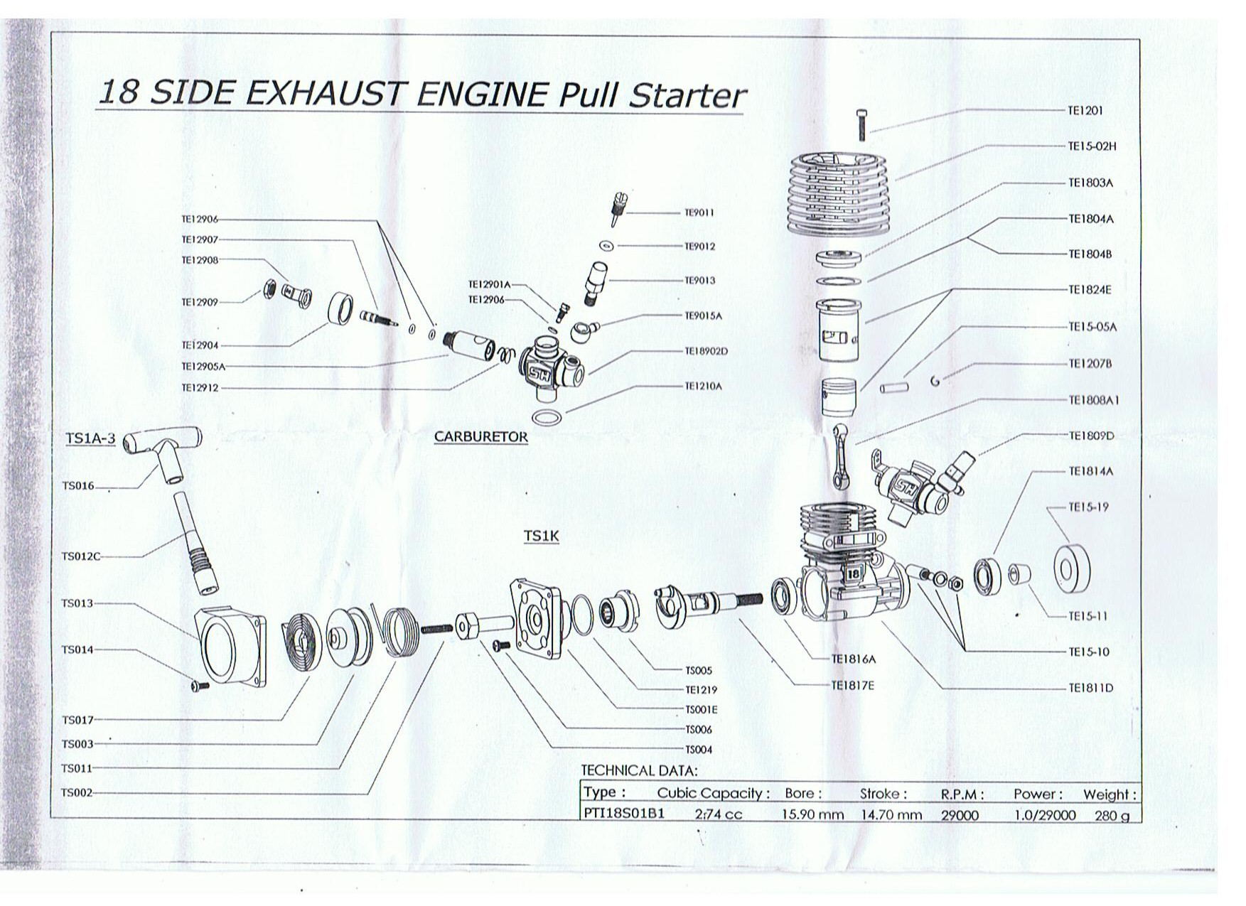 sh 28 nitro engine manual